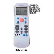 Control Remoto Ar820 Aire Acondicionado Surrey Carrier Midea