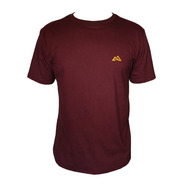 Camiseta Mountain Wear Bordô / Cm03