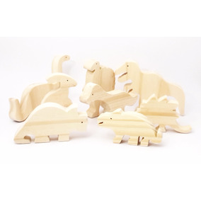 Animales De Madera Juegos Didácticos Waldorf Montessori