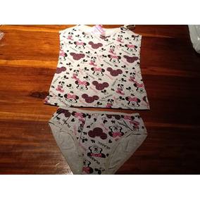 Camiseta + Bombacha D Minnie Nuevas ! Aprox. 9 Años! Fotos