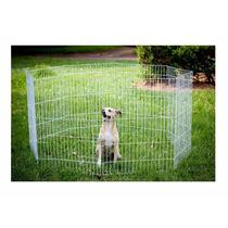 Cercado Grade Canil 8 Lados Médio Pet Cão Gato Frete Grátis