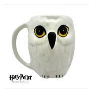 Caneca 3d Coruja Hedwig Harry Potter Edwiges Bruxo Oficial