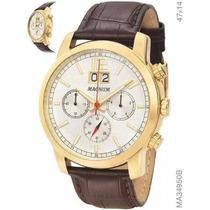 Relógio Magnum Masculino Ma34950b Original G. 2 Anos + Nf