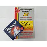 Velas Iridium + Cabos Ngk Pajero Tr4 2.0 Flex 2007 A 06/2009
