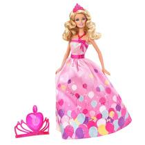 Boneca Barbie Fairy Aniversário Da Princesa Original Mattel