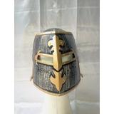 Elmo Capacete Articulado Medieval Viking Cruzadas Templarios