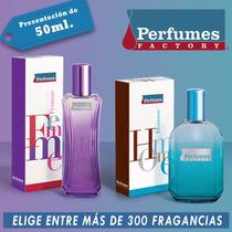 Perfume Factory De 50ml Damas Y Caballeros - Ver Listado