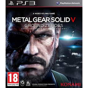 Metal Gear Solid V Ground Zeroes Ps3 Midia Fisica