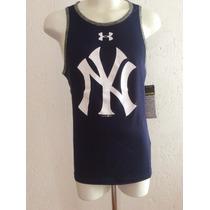 Jersey New York Yankees Musculosa Baseball Under Armour 2016