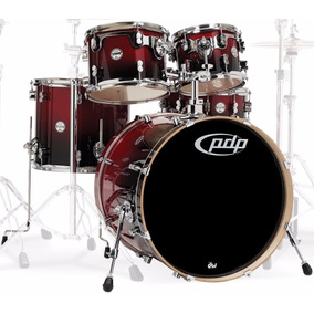 Bateria Pacific Concept Birch Fusion 22 Cherry Y Natural