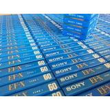 Cassette Cassete Virgen Sony Ef-x 60 Min Nuevo Audio