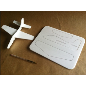 Projeto De 4 Aviões Mais Planador Para Fazer Em Isopor Simpl