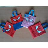 Bolsitas, Cotillones Para Fiestas Infantiles De Spiderman