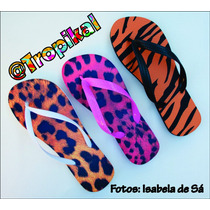 Chinelo Infantil Estampado - Frozen; Minnie; Moranguinho