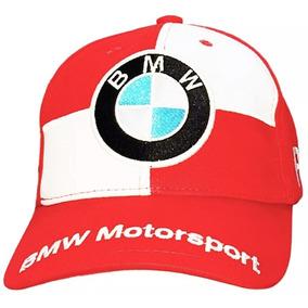 Boné Bmw Motorsport Aba Curva Masculino - Vermelho 4915a772ae1