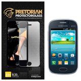 Película De Vidro Pretorian Para Galaxy Fame Duos S6810 Novo