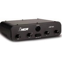 Amplificador Potência Nca Som Musica Ambiente 50w, Ab50 R4