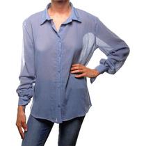 Sarkany Sauco - Camisa Mujer Algodón Liviano