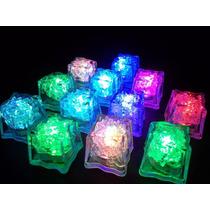 12 Cubo De Hielo Luminoso- Luz Led Rgb Exelente Calidad