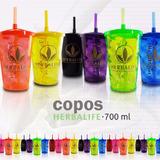 Kit Com 20 Copos Acrílico Personalizados Herbalife