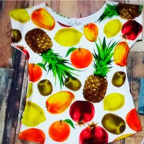 Blusa Japonesa Fantasía De Frutas