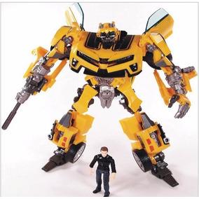 Transformers Bumblebee Robot Camaro Amarelo Filme Hasbro