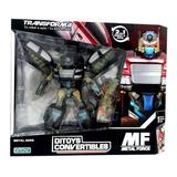 Transformers Ditoys Convertibles Robots Metalicos Quinotoys