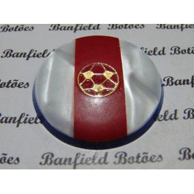 Cod 2862 Botão Antigo 3.8 Cm Bola De Ouro Paraguay Bertisa