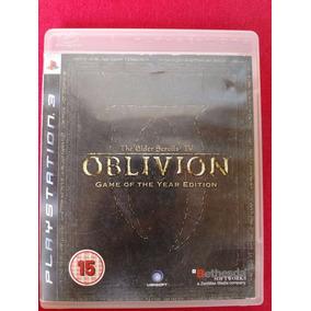 The Elder Scrolls Iv: Oblivion Goty Edition Ps3 Frete R$10