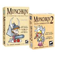 Munchkin + Munchkin 2 Combo Juego De Mesa Scarletkids Bureau