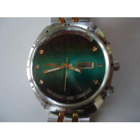 0ce408630a9 Relógio Orient Automático Kd Mult -year Antigo 3 Chaves