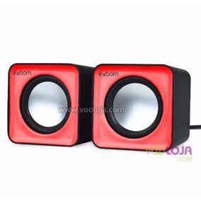 Kit C/15pç Exbom Caixa De Som 2.0 P/pc E Smartphone Cs-32