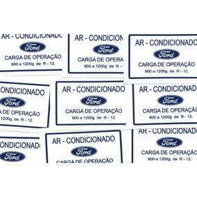 Emblema Adesivo Galaxie Landau Filtro 4800 Ar Condicionado