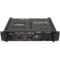 Ciclotron W Power Ii 6800 Ab Amplificador Potencia 0frete