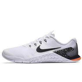 Tênis Nike Metcon 4 Crossfit White Black Academia Box Treino