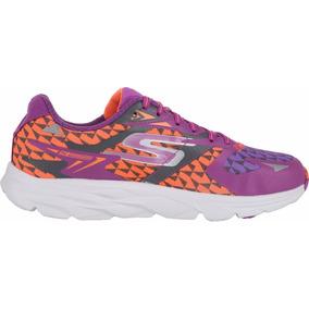 Zapatillas Skechers Running Go Run Ride 5 Mujer Violeta/nja