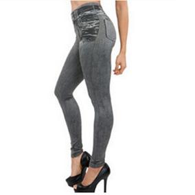 Leggings Jeans Tipo Mezclilla