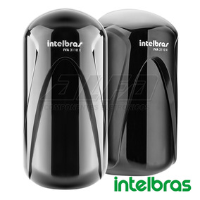 Sensor De Barreira Intelbras Iva 3110 X Duplo Feixe 110m Par