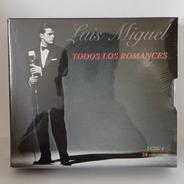 Luis Miguel Todos Los Romances Cd [nuevo]