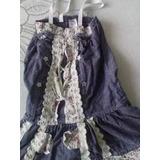 Vestido De Jean Para Niña Talla 6