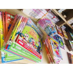 45 Gibis E Revistas Saiba + Tur. Da Mônica + Brinde C/ Frete