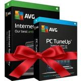 Antivirus Avg Internet Security + Tune Up 10 Pc - 1 Año