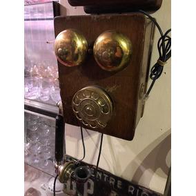 Antiguo Telefono De Pared Ericsson Adaptado