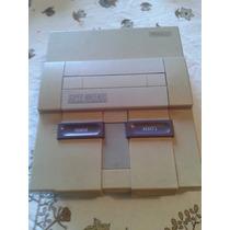 Super Nintendo Console + Fonte E Cabo Da Tv