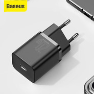 Carregador Tomada Usb Pd Quick Charge 20w iPhone 12 Baseus