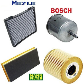 Tune Up Kit Cabin Air Oil Fuel Filters For Volvo S40 L4 2004