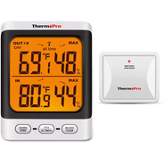 Termómetro Higrómetro Dual Interior Exterior Thermopro Tp-62