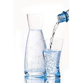 botella de vidrio decantador de vino jugo agua italiano