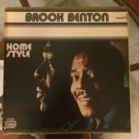 Brook Benton Home Style Disco Vinilo Usa Blues Folk Soul 70