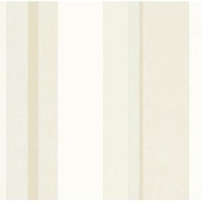 Papel Parede Diplomata Listrado Branco,cinza,bege 3106
